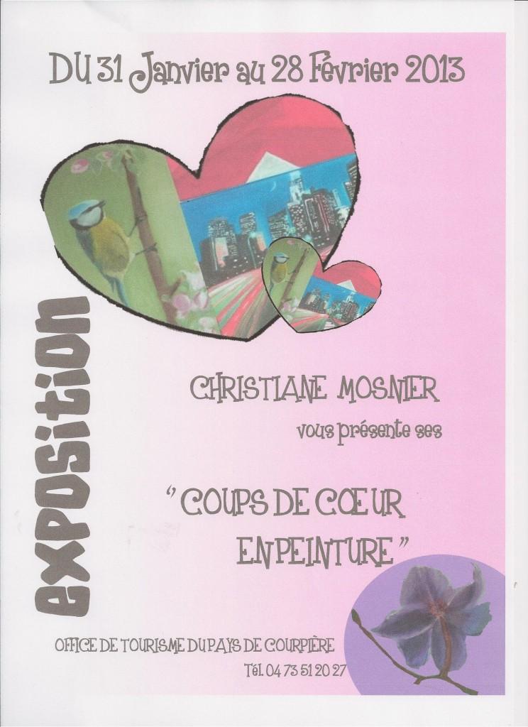 expo Coups de coeur en peinture