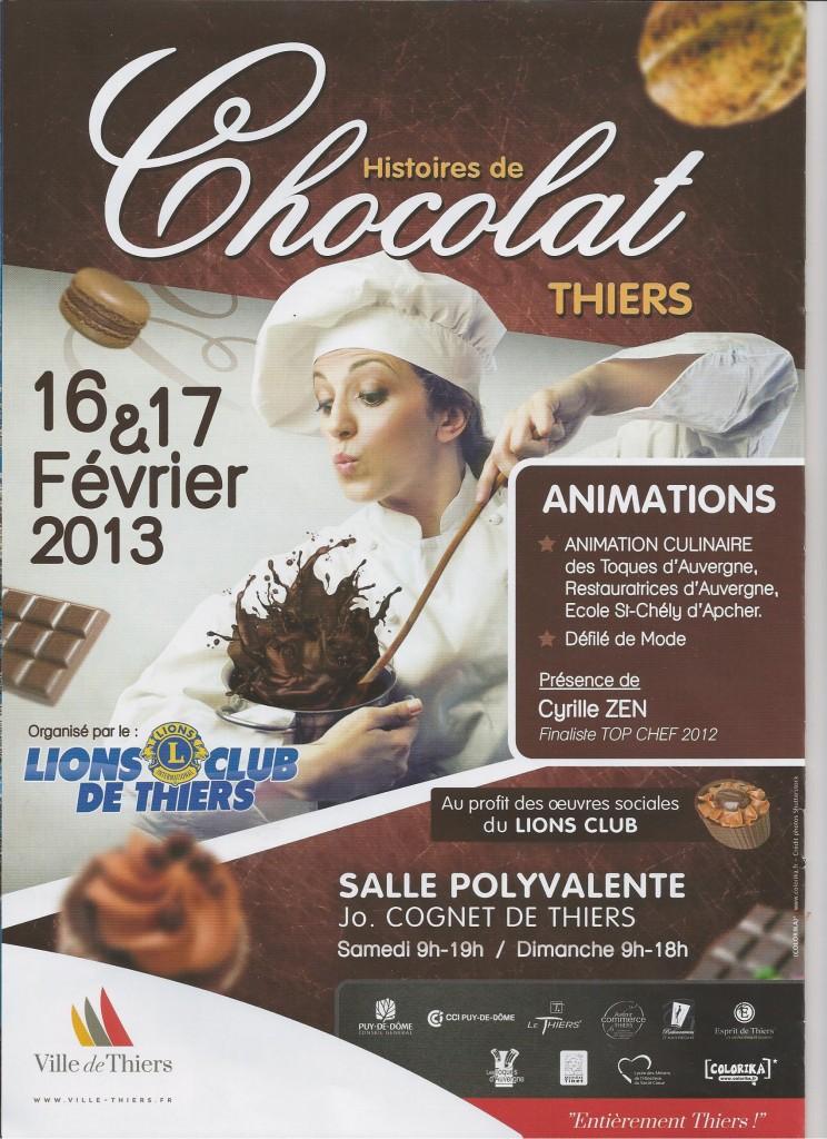 salon-du-chocolat Thiers 2013